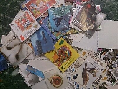 £100 pounds face value of stamps unused