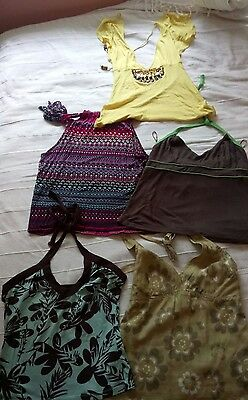assorted summer tops size 8
