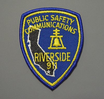 RIVERSIDE CA Public Safety COMMUNICATIONS Patch ++ Police Fire EMS
