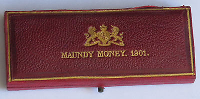 Original Royal Mint Maundy Box 1901