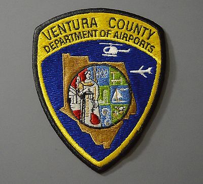 VENTURA County AIRPORTS Security Patch ++ Mint CA