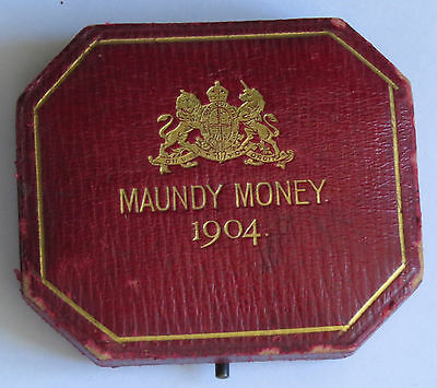 Original Royal Mint Maundy Box 1904
