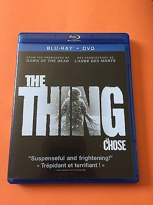 The Thing (Blu-ray/DVD, 2012, 2-Disc Set, Canadian)