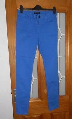 Ladies Size 10 Blue M&S Super stretch Jeggings
