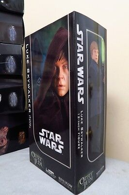 RARE Star Wars Sideshow JEDI LUKE SKYWALKER 1/6 Scale Figure
