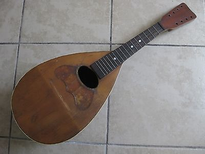 Vintage Antique Jupiter Mandolin Project Repair Parts Restore