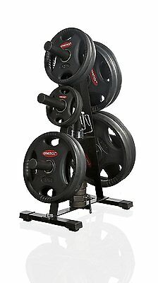 Gymstick STR-WR1 Rack for Olympic Weight Plates - Black