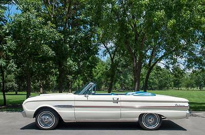 1963 Ford Falcon Falcon 1963 Ford Falcon Futura Convertible, California/Arizona Dry Car