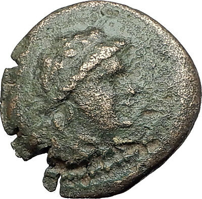 ODESSOS in THRACE 281BC Authentic Ancient Greek Coin w YOUTH & GREAT GOD i62257