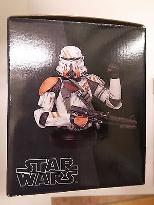 Star Wars AIRBORNE clonetrooper Gentle Giant Mini Bust With COA and box
