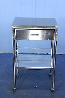Wilson Stainless Medical Cart Medical Procedure Cart with Warranty