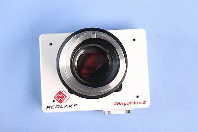 Red Lake Mega Plus II ES11000 Ophthalmic Camera w/ Topcon TM Adapter MD-2 Lens