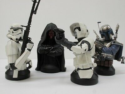 Star Wars STORMTROOPER as is Gentle Giant Mini Bust <<< NO COA or BOX >>>