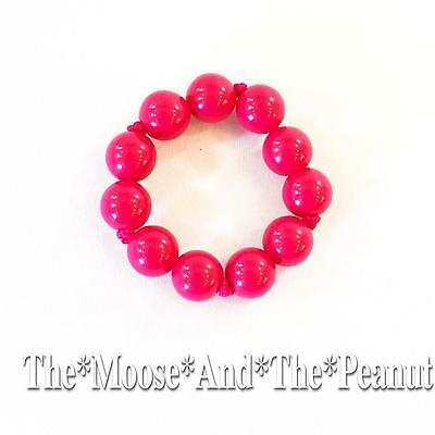 Gymboree Pink Ball Bead Bracelet