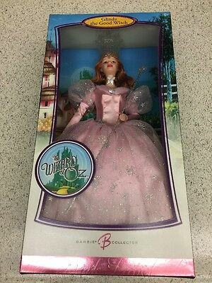NIB - The Wizard of Oz GLINDA The Good Witch - 2007 Pink Label Barbie Doll - NEW