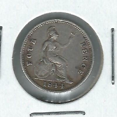 Great Britain 4 pence 1844 VF