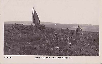 """Early Postcard. Camp Hill """"2"""" Near Crowborough. Sussex"""