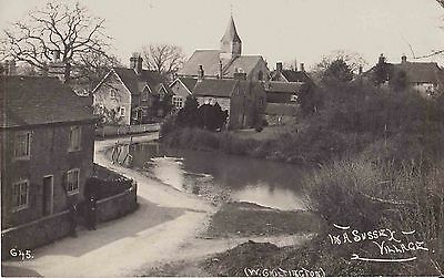 Early Postcard. In A Sussex Village.  West Ciltington. Sussex