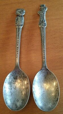 Dennis The Menace & Huckleberry Hound Colector's Spoons