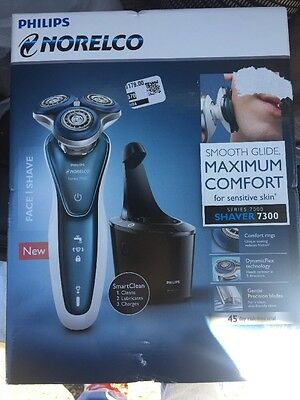 philips norelco shaver new Series 7000 Shaver 7300 Smartclean Cordless Smooth