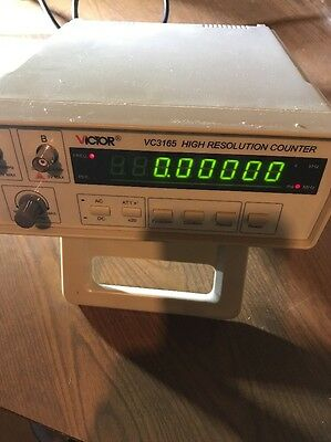 VICTOR VC3165 Radio High Frequency Counter RF Meter 0.01Hz-2.4GHz Professional