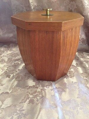Retro Timber Ice Bucket Excellent Condition