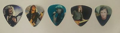 AC/DC Full Set Picture Picks Black Ice Tour 2009 FROM ANGUS YOUNG'S GUITAR TECH