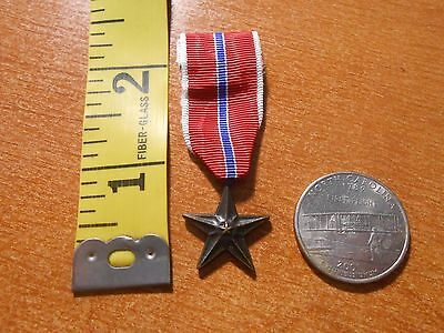 Replica United States Military Bronze Star Mini Medal Military Award D