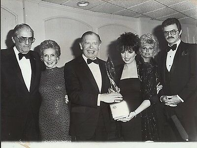 Gregory Peck / Janet Leigh / Milton Berle - professional celebrity photo 1987