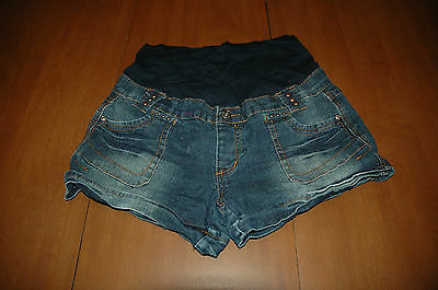 Denim Diva Maternity Jean Shorts - Size XL Extra Large