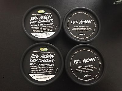 Genuine Lush Ros Argan Body Conditioner X4 New And Long Dates.