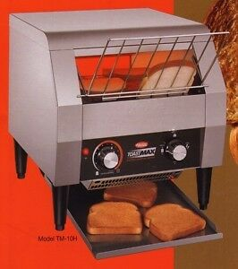 Hatco Toast Qwik TQ-405 Toast Qwik Conveyor Commercial Stainless Steel Toaster