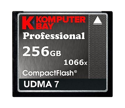Komputerbay 256GB Professional Compact Flash card 1066X CF write 155MB/s read...
