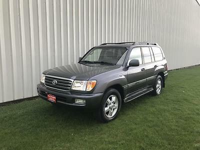 2004 Toyota Land Cruiser Base Sport Utility 4-Door 2004 Toyota  Land Cruiser  LX 470 +1-OWNER+LEATHER+DVD+NAVIGATION+SUPER CLEAN+