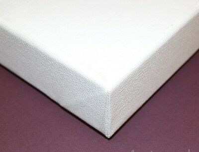 18 x 14 inch Primed Blank Artists Canvases 38mm Deep x FOUR