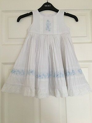 Girls Marks & Spencer's Lovely Summer Dress Age 12-18 Months Great Condition!