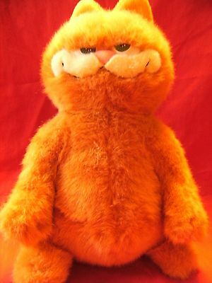 "Garfield The Movie ~ GARFIELD CAT ~ 13""  approx Soft Plush Toy preloved"