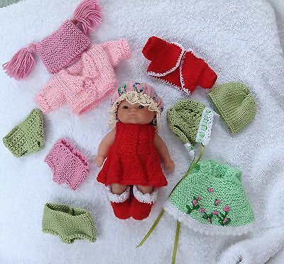 Outfit  For A 5 Inch Berenguer  Doll Or Similar
