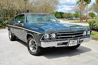 1969 Chevrolet Chevelle SS Gorgeous Classic Factory Air 396 V8 PS PB 1969 Chevrolet Chevelle SS Beautiful Muscle Car 396 V8 PS PB Factory Air
