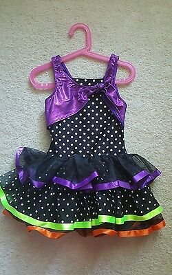 Dance costume outfit dress girls size Small