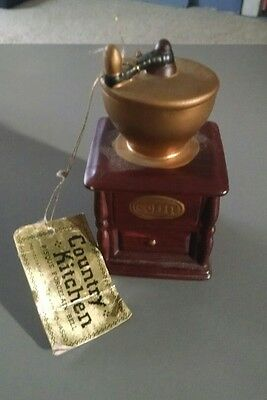 Country Kitchen Coffee Grinder Bell
