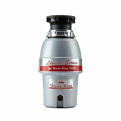 Waste King L-2600 1/2 Horse Power 2600 Rpm Food Waste Disposer