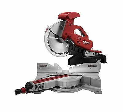 Milwaukee 6955-20 12-Inch Sliding Dual Bevel Miter Saw with Digital Miter Ang...