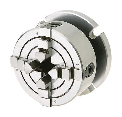 Woodstock D3754 4-Jaw Chuck with Plate Small