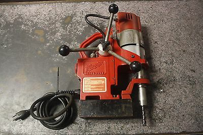 """Milwaukee 4270-20 Magnetic Drill Press 120 AC; 1/2"""" Cap; 9 A; 450 rpm magdrill"""