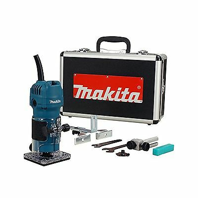 "Makita 3709X Laminate Trimmer 1/4"" with Aluminum Carrying Case"