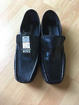 Mens Shoes Size 7 Brand New M&S