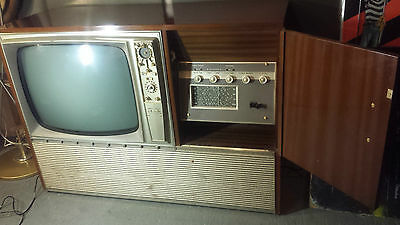 60s Kriesler MULTI SONIC TV/RECORD PLAYER/television Radio stereo/vintage retro