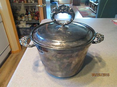 Vintage Morton-Parke Silverplated Insulated Ice Bucket