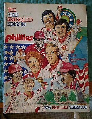 Phillies 1976 Yearbook